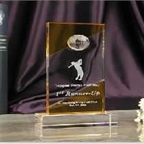 供应;高尔夫水晶奖牌、高尔夫比赛水晶奖杯、高尔夫水
