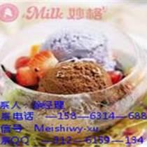 冰淇淋加盟包教包会