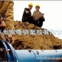 厂家直销PE100给水管、排污管
