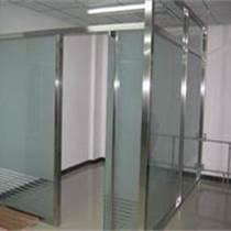 大興制作隔斷安裝玻璃門地彈簧
