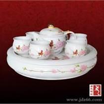 水點桃花茶具