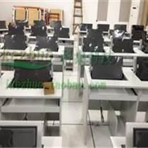 雙人翻轉電腦桌 電教室電腦桌