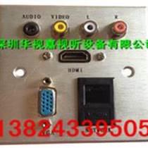 鋁拉絲墻壁插座帶手拉手話筒接口