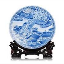 商务礼品陶瓷纪念盘厂家