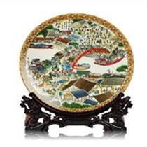 商務禮品陶瓷紀念盤生產廠家