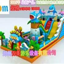 安徽阜陽鯊魚充氣滑梯驚嘆上市