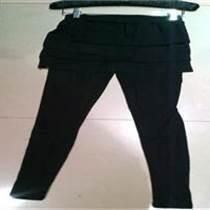 廣州假兩件九分打底褲裙廠家批發