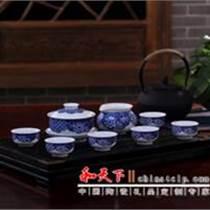 中秋送禮景德鎮手繪陶瓷茶具