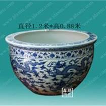 青花陶瓷大缸 商務禮品大缸