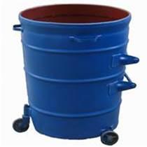 昆明大鐵桶戶外大鐵皮圓形垃圾桶