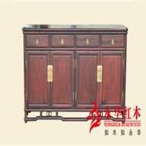 廣東紅木家具古典簡約餐邊柜