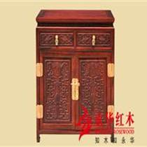 廣東紅木家具古典紅木餐邊柜