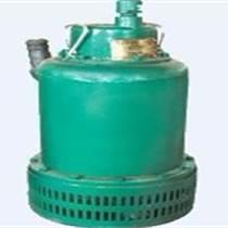 有風動渦輪帶動的潛水泵