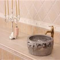 中式陶瓷臺盆定制 陶瓷洗手盆