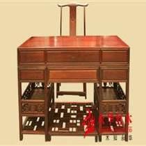 廣東紅木家具明式大班臺