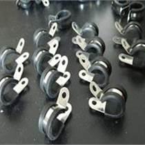 R型不銹鋼包膠線夾 SKM管夾