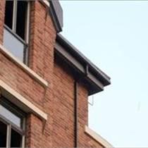 屋面方形雨水管排水系统