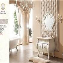 高端浴室柜橡木浴室柜洗手盆6875