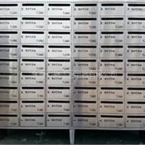 江西嘉和迎賓城小區不銹鋼信報箱