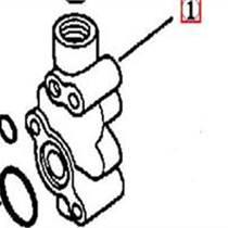 供應SD32溢流閥閥體195-13-16110