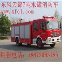 東風天錦消防車