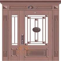 深圳铜门厂 铸铝铜门 对开铜门