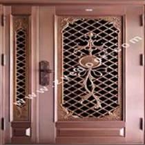 广州铜门厂 精雕铸铝铜门 子母