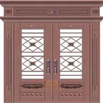 东莞铜门厂 庭院铜门 玻璃铜门