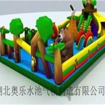 智益儿童玩具充气城堡充气大滑梯