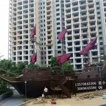 2噸重木制觀賞景觀船