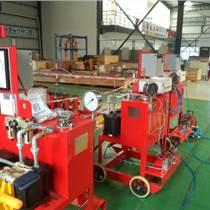 数据记录仪试压泵 曲线气动试压泵 油田注水试压泵价格