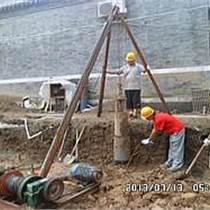 雄县微型钢管打桩/基础打桩加固/护坡桩加固公司