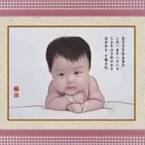 越秀区省中医院婴儿胎毛画制作