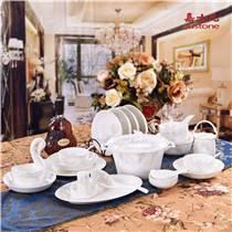 定制 景德镇陶瓷餐具中式骨瓷