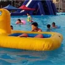 水上跷跷板小鸭船儿童充气玩具