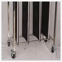 防靜電線棒周轉車PCB-深圳防靜電不銹鋼周轉車定制