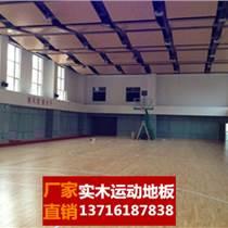 單層體育地板籃球體育木地板上漆