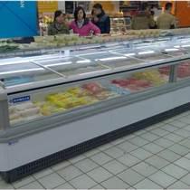 梅花冷柜推薦超市雙出風島柜