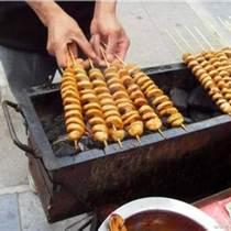 辽宁特色小吃烤面筋技术学习大连烤面筋最好小吃培训