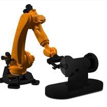 全自动不锈钢拉手智能抛光设备