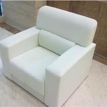 廣州供應單人白色會展沙發租賃