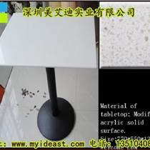 深圳定制人造石餐桌大理石臺面