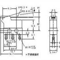 欧姆龙微动开关J-7-4V