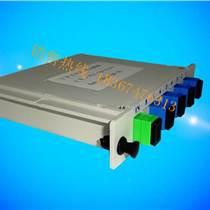 电信插片式1分4分光器