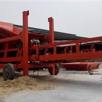 供應益陽工地篩沙機滾筒篩分機石料場篩沙機