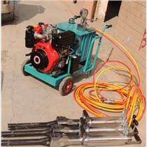 鐵礦開采機械大塊分解機械深凱品牌