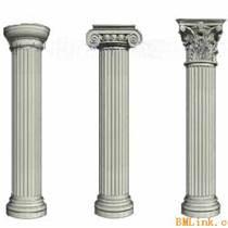 河南商丘厂家批发罗马柱柱头、grc构件各种线脚等订做