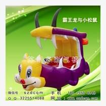 充气电瓶车 广场充气气模玩具车