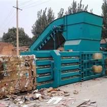永州新型臥式160型廢紙箱打包機