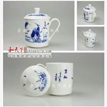 景德鎮骨質瓷泡茶杯 會議杯